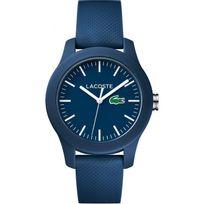 Lacoste - Montre L.12.12 2000955 - Montre Bleue Minéral Femme