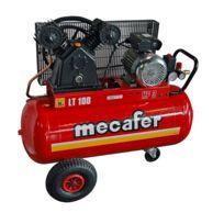 Mecafer - Compresseur 100l 3 hp v en fonte 425316