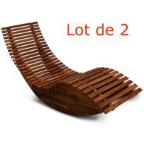 fauteuil bascule exterieur achat fauteuil bascule exterieur pas cher rue du commerce. Black Bedroom Furniture Sets. Home Design Ideas