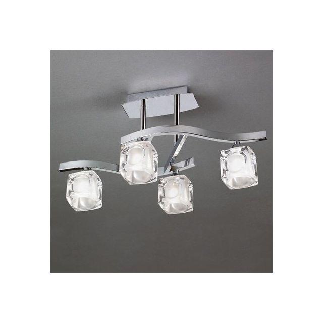 Luminaire 4 lampes