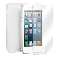 Campus - Etui Silicone pour iPhone 5 - FlexShield - Pro-if5W - Blanc
