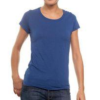 Newoutwear - T-shirt New OutWear L066254 R-neck Bleu Royal