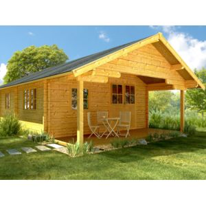 habitat et jardin chalet jardin bois albany x x 70 mm pas cher. Black Bedroom Furniture Sets. Home Design Ideas