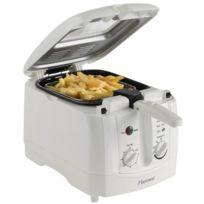 Bestron - Friteuse avec filtre anti-odeur - Capacité 3L Avec minuterie - 1800W - Design blanc