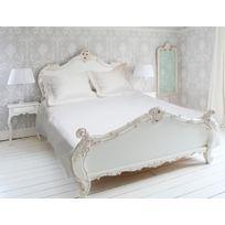 Eden - Parure de drap 4 pièces en percale satin, coloris blanc