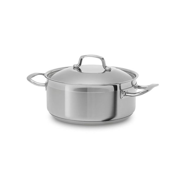 TABLE PASSION SILAMPOS - FAITOUT 18 CM 1L9 PROFESSIONNEL INOX INDUCTION
