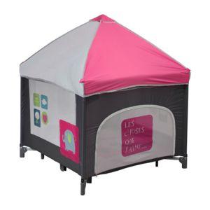 bambisol parc carre filet b b multicolore pas cher achat vente parcs rueducommerce. Black Bedroom Furniture Sets. Home Design Ideas