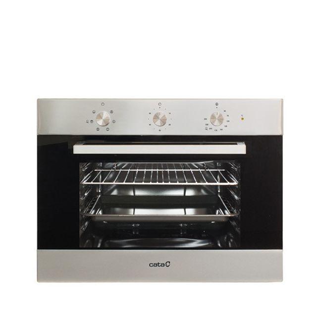 Totalcadeau Four grill à 6 fonctions et plateau amovible - Four intégrable 59,5 x 45,6 x 53,1 cm