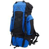 Highlander - Sac à dos randonnée Rambler 44 cobalt black Bleu 41411