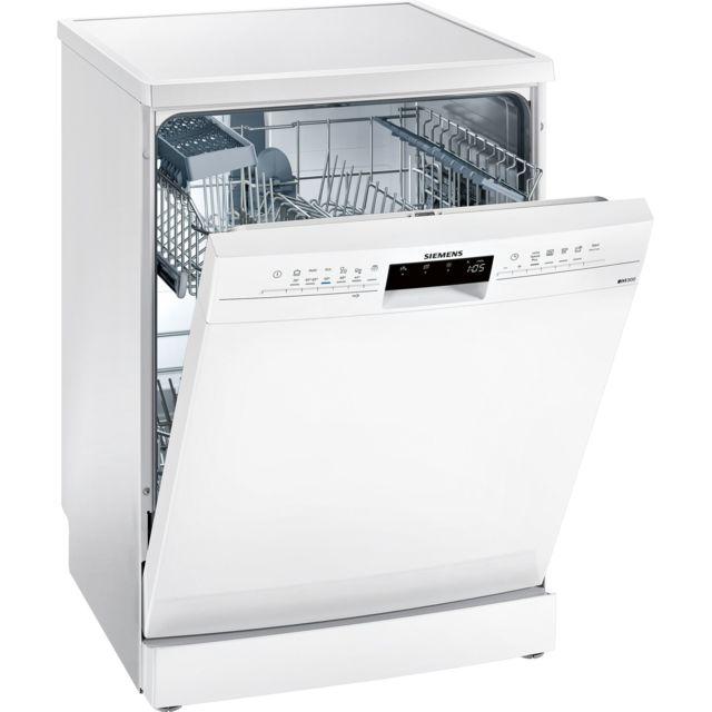 SIEMENS lave-vaisselle 60cm 13c 46db a+ blanc - sn236w05ie