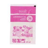 Boldair - détergent sur odorant douceur tropical - boite de 100 doses