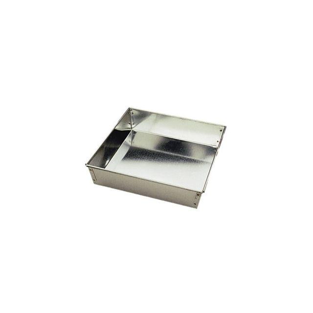 Gobel Moule à manqué carré en Fer blanc