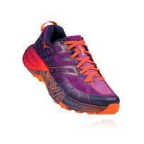 Hoka One One - Speedgoat 2 Violette Et Rose Chaussures de trail