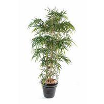 Artificielflower - Bambou artificiel New Uv résistant 6 cannes - extérieur balcon terrasse - H.120cm vert - taille : 120 cm