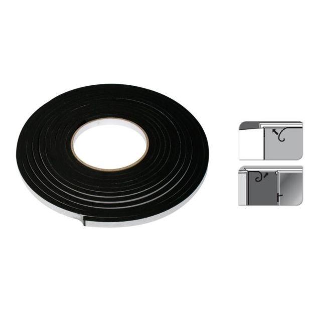 Sans - Bande en Mousse Adhésive Noir 5,5mx9mm Fenêtre Porte - Bricolage Isolation - 552