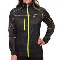 Asics - Veste Noir Fuji Packable Running/Trail Femme