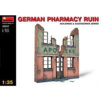 Academy - Maquette Ruines de guerre : Façade de pharmacie allemande