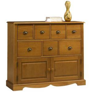 beaux meubles pas chers buffet commode pin massif miel. Black Bedroom Furniture Sets. Home Design Ideas