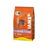 Iams - Croquettes Multicat - 3kg - Pour chat adulte et senior