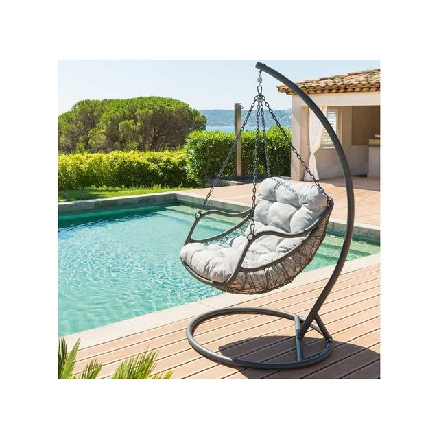 hesp ride loveuse suspendue gilbraltar gris pas cher. Black Bedroom Furniture Sets. Home Design Ideas