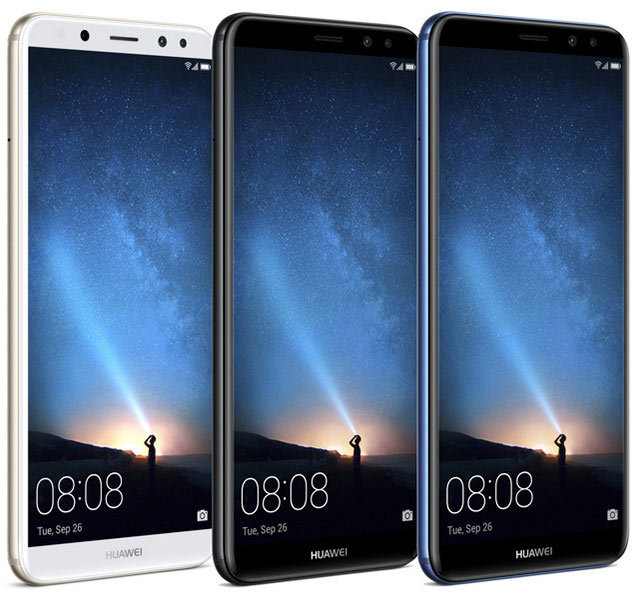 huawei mate 10 lite bleu pas cher achat vente smartphone android android rueducommerce. Black Bedroom Furniture Sets. Home Design Ideas
