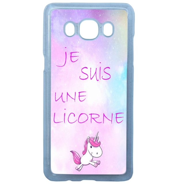 coque samsung j5 2016 licorne