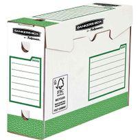 Bankers Box - boîtes d'archives heavy duty - dos de 10 - vert - paquet de 20