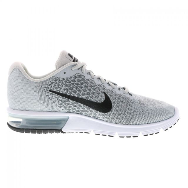 Nike Basket Air Max Sequent 2 852461 002 Gris pas cher