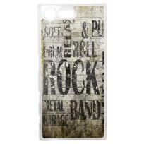 Lapinette - Coque Rigide Rock And Punk Pour Sony Xperia X Compact