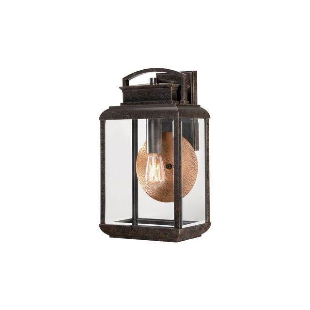 Elstead Lighting Applique Byron H 45,7cm 1x100W Bronze foncé