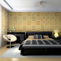 Bimago - A1-LFTNT0561 - Papier peint - Immitation parquet bois 200x154