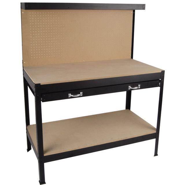 etabli d 39 atelier yh wt036 pas cher achat vente etablis rueducommerce. Black Bedroom Furniture Sets. Home Design Ideas