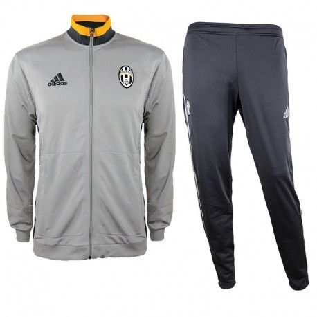 5ceee95966c08 Adidas originals - Survêtement de présentation Juventus de Turin Football  Gris Garçon Adidas