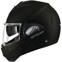 Shark - casque intégral modulable en jet Evoline 3 Kma moto scooter noir mat S