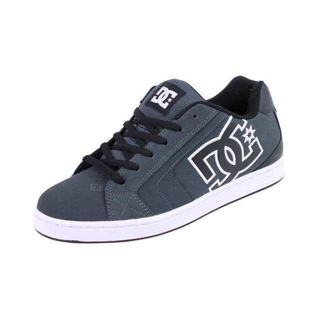 ebbd827600dd Dc - Chaussures Net Skateboard Gris Homme Shoes Gris 38 - pas cher Achat / Vente  Baskets homme - RueDuCommerce