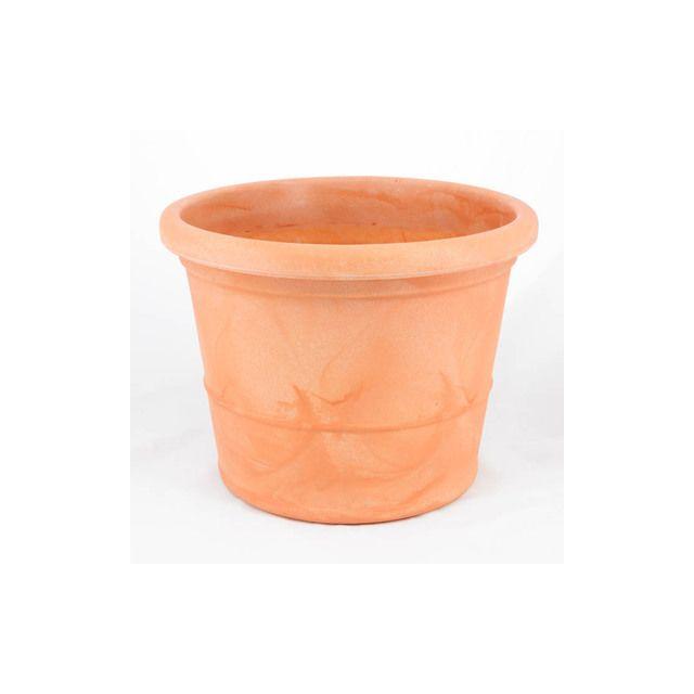 c050fa8a9597a Marchioro - Pot Zara 40 cm terre-cuite matière plastique - pas cher Achat /  Vente Poterie, bac à fleurs - RueDuCommerce