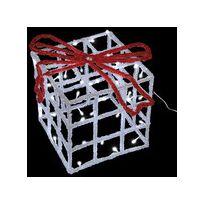 Lealight - Cadeau Lumineux 3D Effet Givré Led 30 cm Blanc