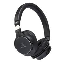 AUDIO-TECHNICA  - Casque arceau circum-auriculaire Bluetooth Hi-Res Noir - ATH-SR5BT
