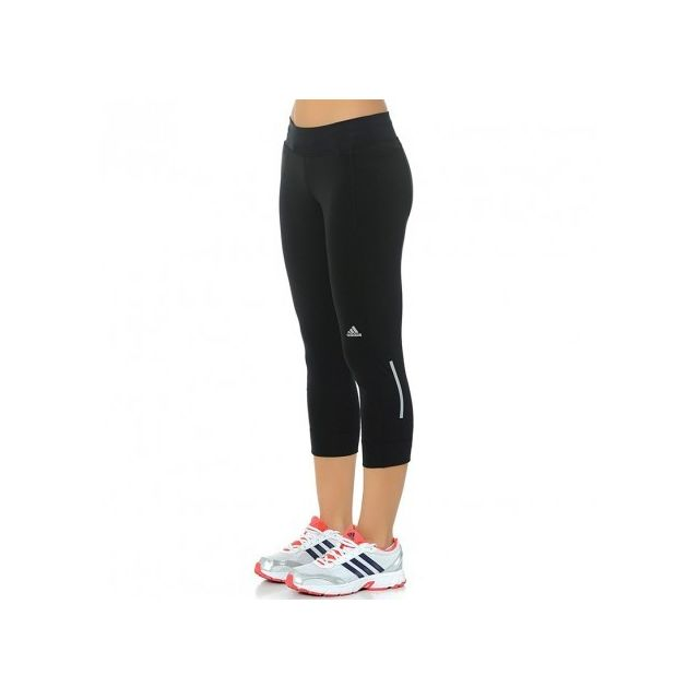 Adidas originals - Collant 3 4 Running Noir Femme Adidas - pas cher ... 85c5f7d7109