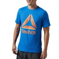 943e5d560366c Tee shirt homme Reebok - Achat Tee shirt homme Reebok pas cher - Rue ...