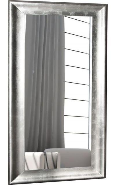 comforium grand miroir mural design coloris argent pas. Black Bedroom Furniture Sets. Home Design Ideas