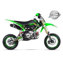 Gunshot - Moto Pit Bike 150 Fx - Édition Monster - Vert - 2017