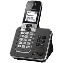 PANASONIC - Téléphone fixe sans fil avec répondeur KX - TGD320FRG
