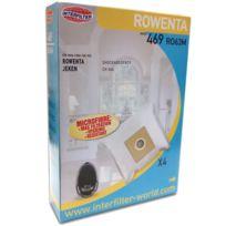 Eder - Boîte de 4 sacs papier - Aspirateur - Rowenta
