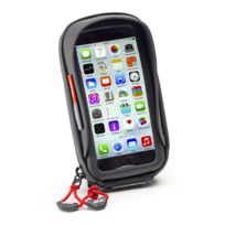 Givi - support universel S956B pour iPhone 6 galaxy A5 moto scooter vélo fixation universelle