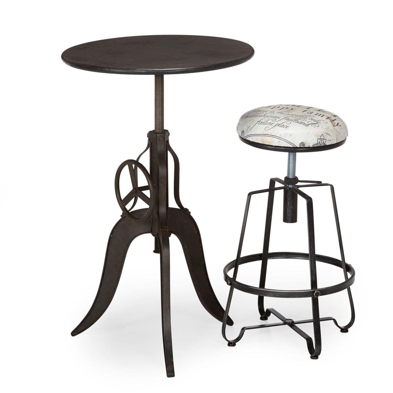 table mange debout alinea lot de tabourets de bar avec table haute with table mange debout. Black Bedroom Furniture Sets. Home Design Ideas