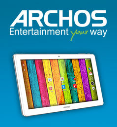 ARCHOS Tablette 10,1'' - Quad-Core - 32 Go - RAM 1 Go - Android 5.1