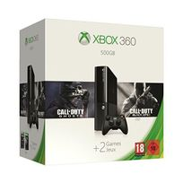 Microsoft - Console Xbox 360 500Go + Call of Duty: Black Ops 2 + Call of Duty: Ghosts
