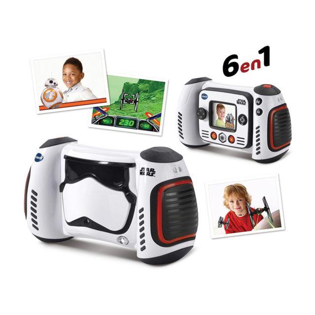 vtech appareil photo num rique 6 en 1 star wars pas cher achat vente appareil photo enfant. Black Bedroom Furniture Sets. Home Design Ideas