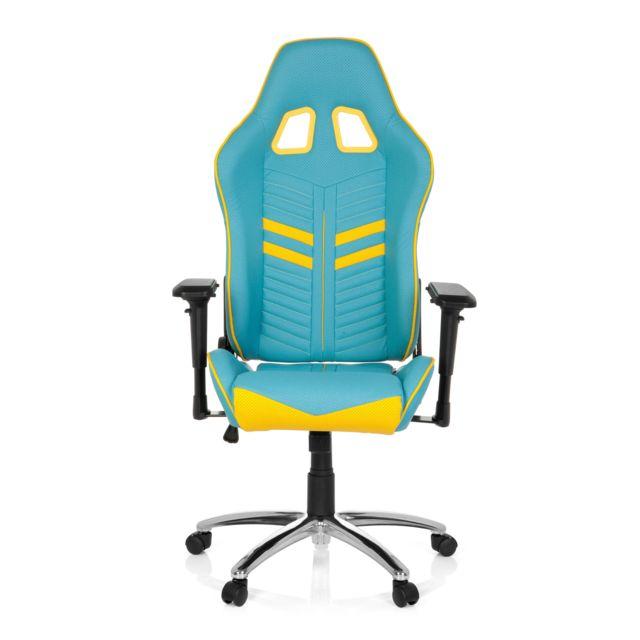 Hjh Office Chaise Gaming Chaise De Bureau League Pro Simili Cuir
